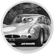 1963 Ferrari 250 Gto Scaglietti Berlinetta Round Beach Towel