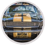 1966 Ford Shelby Mustang Hertz Edition  Round Beach Towel