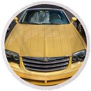 2008 Chrysler Crossfire Convertible  Round Beach Towel