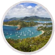 Antigua Round Beach Towel