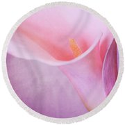 Calla Round Beach Towel