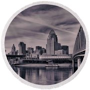Cincinnati Round Beach Towel
