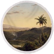Cotopaxi Round Beach Towel