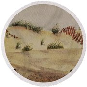 Dunes Round Beach Towel by Mary Ellen Mueller Legault