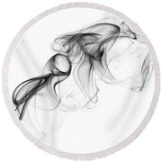 Fluidity No. 1 Round Beach Towel