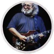 Grateful Dead - Jerry Garcia Round Beach Towel