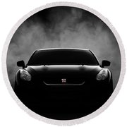 GTR Round Beach Towel