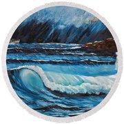 Hope  Round Beach Towel by Patricia Olson