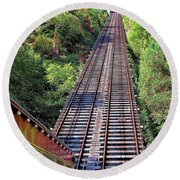 Johnstown Incline Round Beach Towel