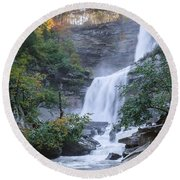 Kaaterskill Falls Square Round Beach Towel