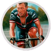 Lance Armstrong Round Beach Towel