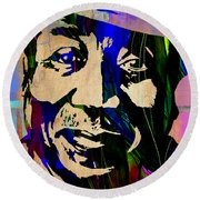 Muddy Waters Collection Round Beach Towel