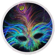 New Orleans Intrigue Round Beach Towel
