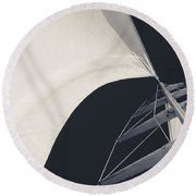 Obsession Sails 10 Round Beach Towel