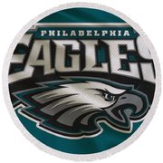 Philadelphia Eagles Uniform Round Beach Towel