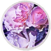 Rose 60 Round Beach Towel by Pamela Cooper