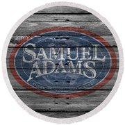 Samuel Adams Round Beach Towel