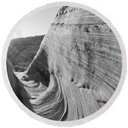 Sandstone Rock Formations, The Wave Round Beach Towel