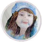 Sarah Round Beach Towel