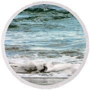 Sea Round Beach Towel by Oleg Zavarzin