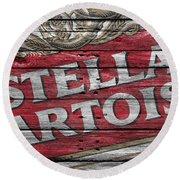 Stella Artois Round Beach Towel