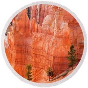 Sunrise Point Bryce Canyon National Park Round Beach Towel