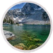 Treasure Lakes Round Beach Towel