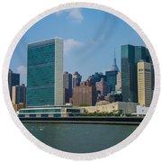 United Nations Round Beach Towel