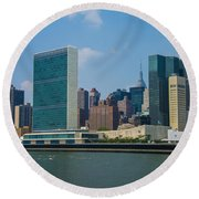 United Nations Round Beach Towel