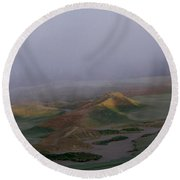 2015 U.s. Open - Chambers Bay II Round Beach Towel