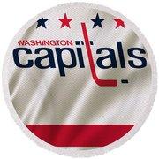 Washington Capitals Round Beach Towel