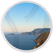 Alonissos Round Beach Towel
