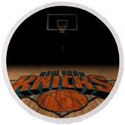 New York Knicks Round Beach Towel