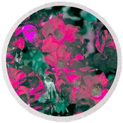 Rose 72 Round Beach Towel by Pamela Cooper