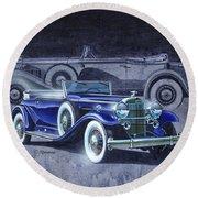 32 Packard Round Beach Towel