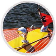 Chris Craft Continental Round Beach Towel
