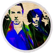 Coldplay Collection Round Beach Towel