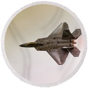 F-22 Raptor Round Beach Towel