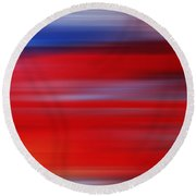 Series Mesmerizing Landscapes Round Beach Towel