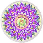 Sparkle Signature Art Chakra Round Mandala By Navinjoshi At Fineartamerica.com Rare Fineart Images  Round Beach Towel