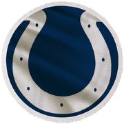 Indianapolis Colts Uniform Round Beach Towel