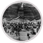 John Philip Sousa (1854-1932) Round Beach Towel