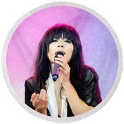 Loreen Round Beach Towel