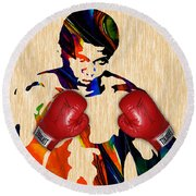 Muhammad Ali Collection Round Beach Towel