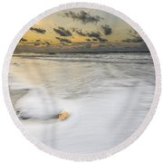 Sunrise On Hilton Head Island Round Beach Towel