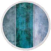 5 Water Round Beach Towel
