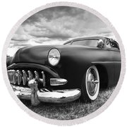 52 Hudson Pacemaker Coupe Round Beach Towel