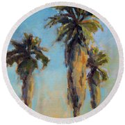 Pacific Breeze Round Beach Towel
