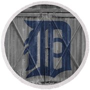 Detroit Tigers Round Beach Towel