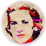 Grace Kelly Round Beach Towel